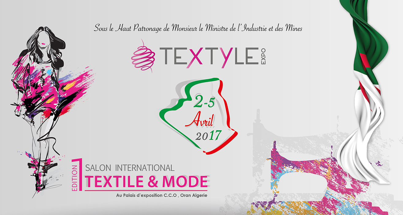 Textyle Expo Oran. Salon international textile et mode @ Centre des conventions Ahmed Ben Ahmed