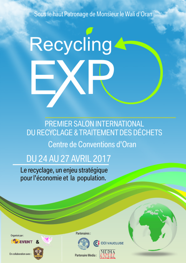 Recycling Expo. Salon international du recyclage et traitement des déchets @ Centre convention d'Oran